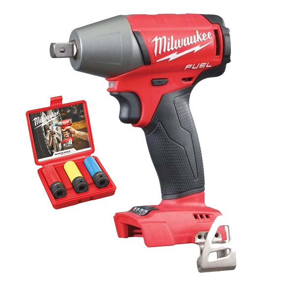 Milwaukee M18 FIWP12-0X FUEL ½˝ Muttertrekker (320nm) Pakke