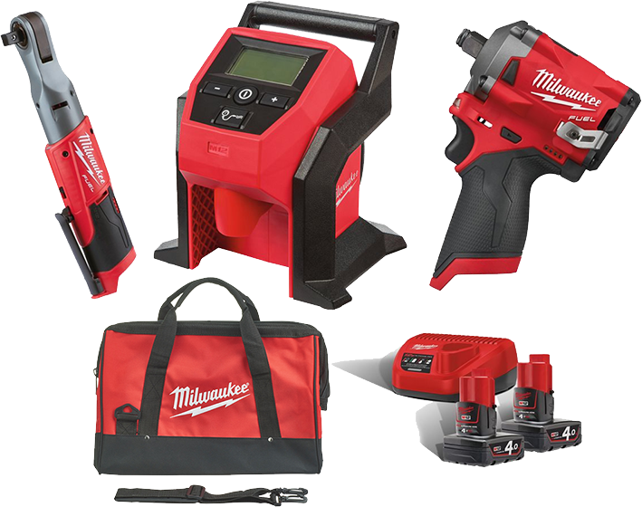 Milwaukee M12 Autosett