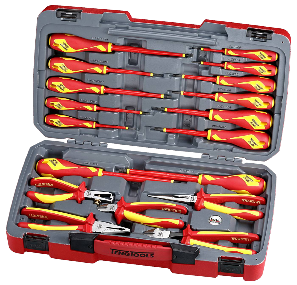 Teng Tools TV18N Skrutrekker- og Tangsett for 1000V
